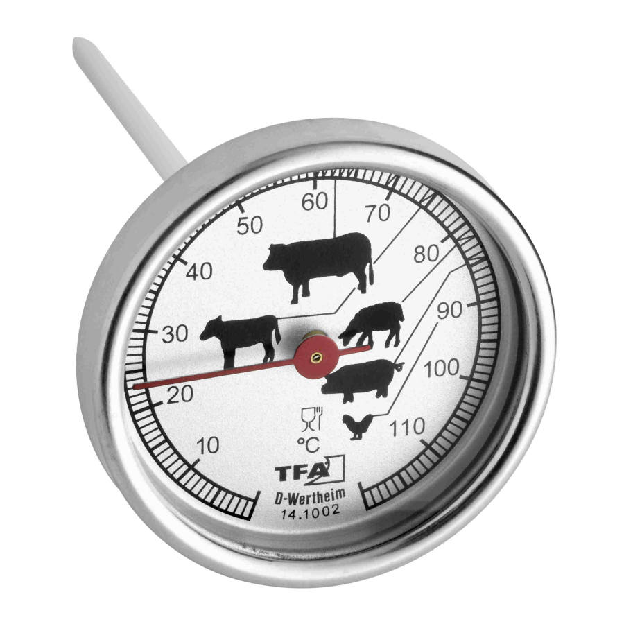 Potravinářský teploměr vpichový TFA 14.1002.60.90