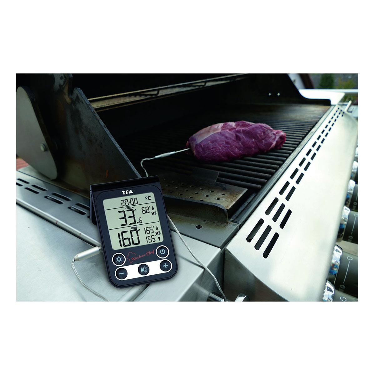 Digitální vpichový teploměr na maso TFA 14.1512.01