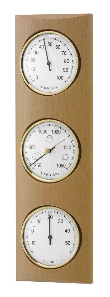 Meteostanice analogová na dřevěné podložce TFA 20.1028.05