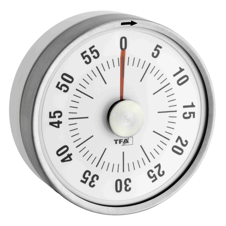Kuchyňská minutka TFA 38.1028.02 PUCK - bílá
