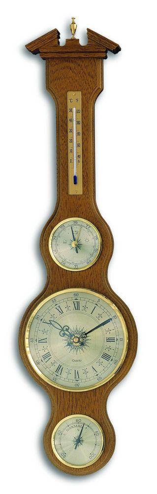 Meteostanice kaplička TFA 45.3004.01 s teploměrem, vlhkoměrem, barometrem a hodinami