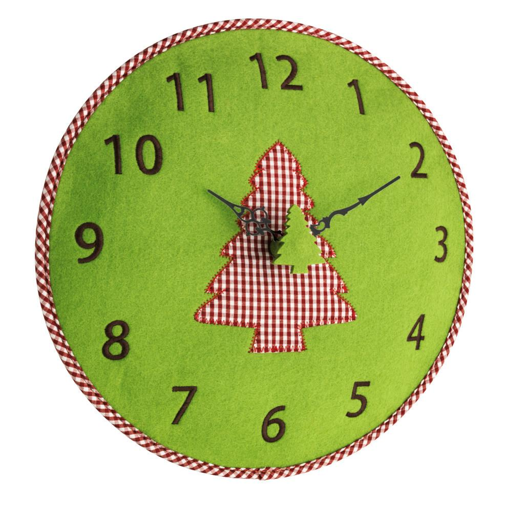 Nástěnné hodiny s motivem stromu TFA 60.3025.04