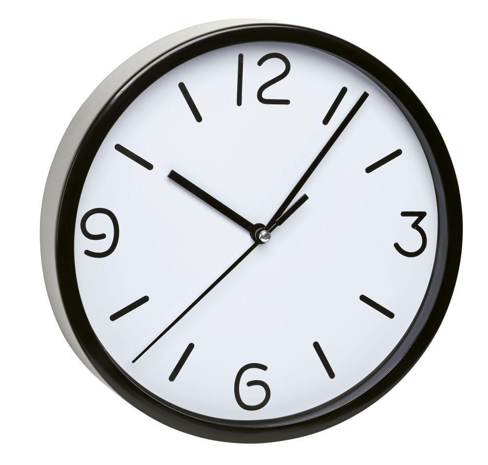Nástěnné hodiny TFA 60.3033.01 - černé