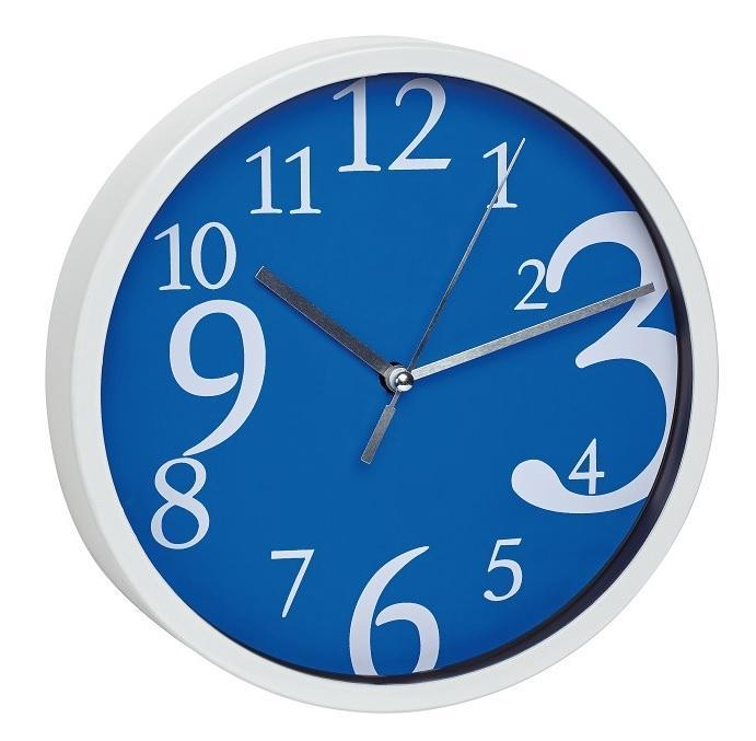 Nástěnné hodiny TFA 60.3034.06 - modré