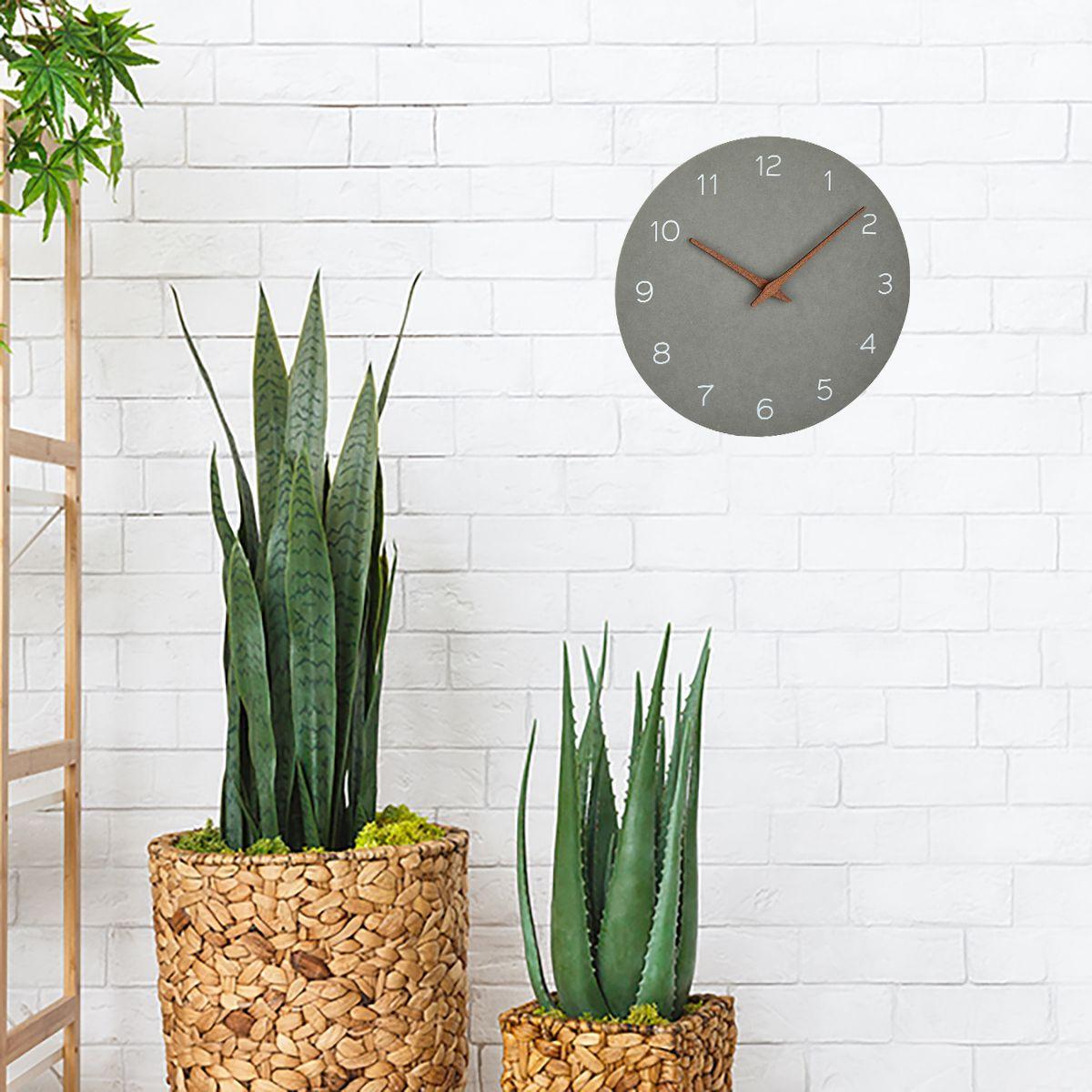 Nástěnné hodiny TFA 60.3054.10 - betonová šedá