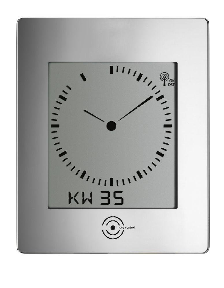 Rádiem řízené nástěnné hodiny TFA 60.4507 DIALOG REFLEX