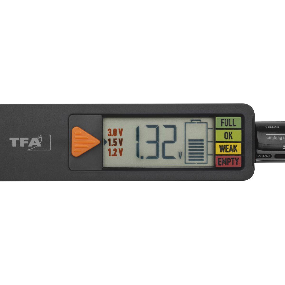 TFA 98.1126.01 BatteryCheck - tester baterií