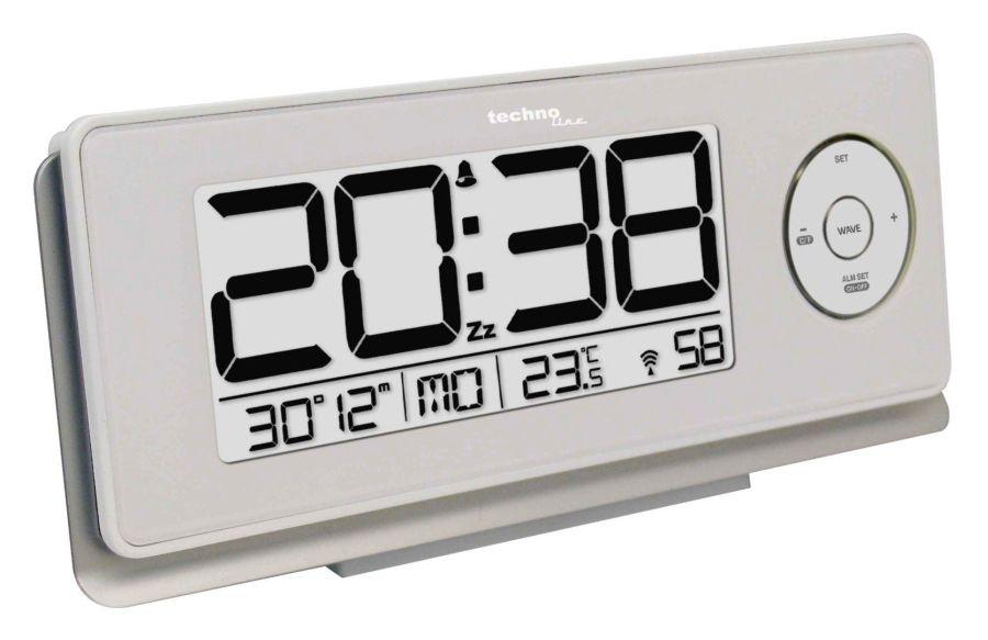 Digitální budík se stále podsvíceným displejem - model WT 498