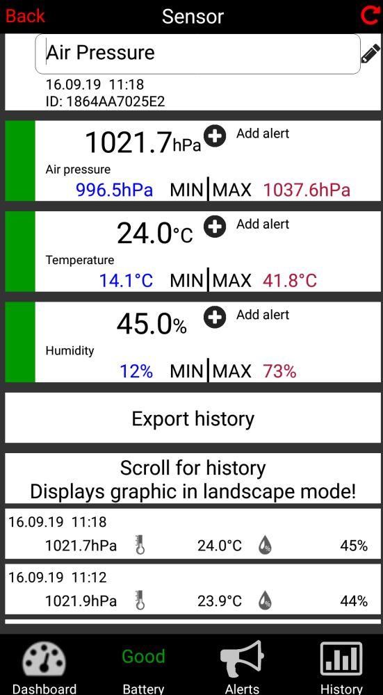 Digitální teploměr, vlhkoměr a barometr TFA 35.1154.01 COSY BARO kompatibilní se systémem WeatherHub